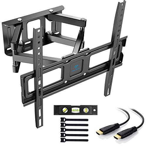 Soporte de TV Pared Articulado Inclinable Y Giratorio – Soporte De TV para...