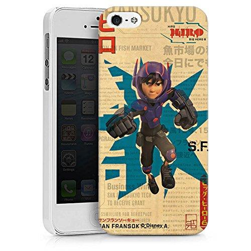 Apple iPhone X Silikon Hülle Case Schutzhülle Disney Hiro und Baymax Merchandise Zubehör Hard Case weiß