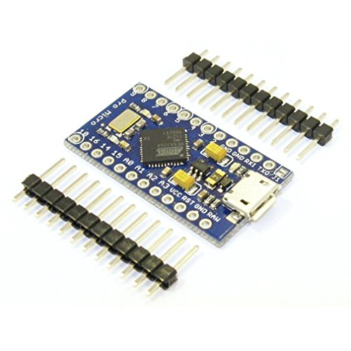 DollaTek Tarjeta módulo Pro Micro ATmega32U4 5V