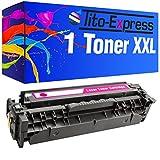 PlatinumSerie® 1 Toner-Patrone XL Magenta für HP CE413A Laserjet Pro 300 Color M351A 300 Color MFP M375NW 400 Color M451DN 400 Color M451DW 400 Color M451NW 400 M475DN 400 M475DW