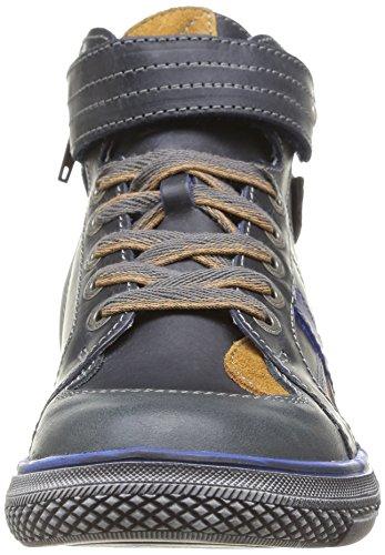 Catimini Cleo, Chaussures de ville garçon Gris (42 Ctv Ardoise/Ocre)