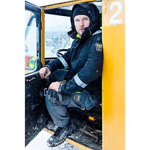 Helly Hansen Mens Alna Mid Waterproof Breathable Workwear Safety Shoes schwarz / orange