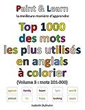 Telecharger Livres Top 1000 des mots les plus utilises en anglais Volume 3 mots 201 300 (PDF,EPUB,MOBI) gratuits en Francaise