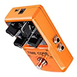 Alomejor Multi-Effets Heavy Metal Distortion Boost Chorus Delay Pédale de Guitare pour Guitare électrique