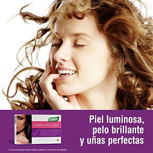 5184YjRz2qL - Complemento alimenticio multivigor para cabellos, uñas y piel de Santiveri: contiene 48 capsulas (35 gr)