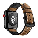 38mm Uhrenarmband für Armband Apple Watch 38mm Leder Silikonarmband für Apple Watch Serie 1 Serie 2 Serie 3 Serie 4