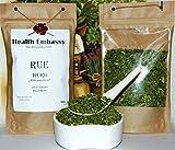 Weinraute Kraut 50g (Ruta graveolens) / Rue Herb 50g - Health Embassy - 100% Natural