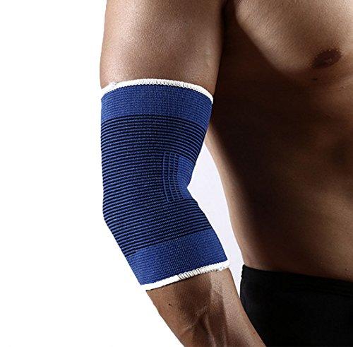 HTWY Elbow Outdoor Sporting Goods Entrenamiento De Fitness Antideslizante Codo De Tejer Hombre De Baloncesto Montar Deportes De Protección