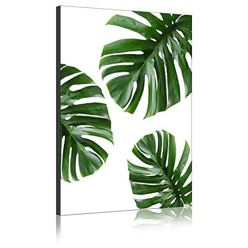 �tter Wand Kunst Leinwand Gemälde Grüne Pflanze Moderne Kunstwerke Drucke Auf Leinwand Für Wohnzimmer Dekor (Kein Rahmen,40 x 60 cm) ()