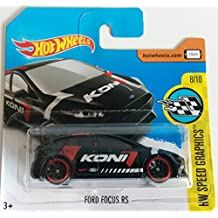 Hot Wheels 2017 HW Speed Graphics Ford Focus RS Black 176/365 (Short Card