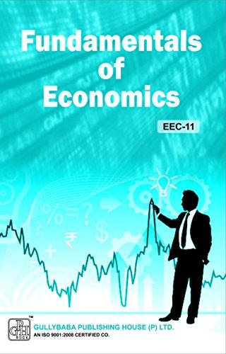 EEC-11 Fundamentals Of Economics