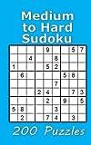 Medium to Hard Sudoku 200 Puzzles