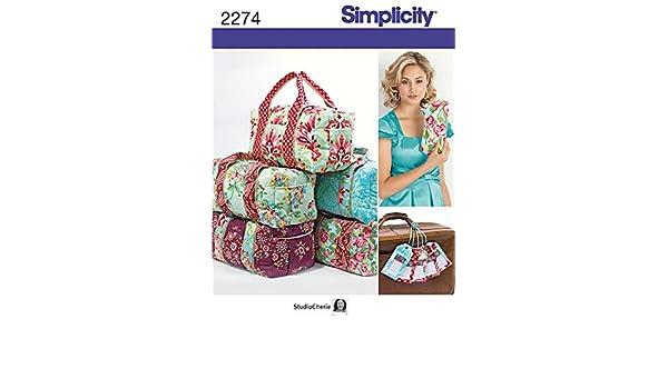 Simplicity Schnittmuster 2274 – Staubbeutel Größen: OS (One Size ...