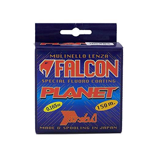 Falcon Nylon Planet Fluorocoated, Persicus, 150 mt Filo da Pesca, Verde Chiaro, 0.3