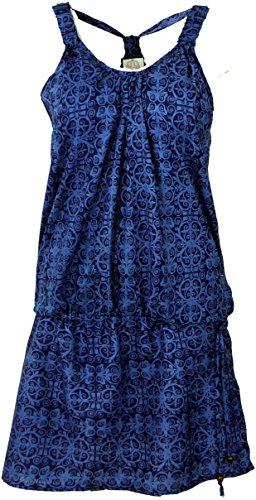 Minikleid in sommerlichem Druck, Sommerkleid, Strandkleid, Trägerkleid, kurzes Kleid / Kurze Kleider Blau