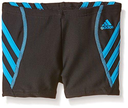 adidas Jungen Badeshorts INF Sports Boxer, Schwarz/Blau, 140, AB7041