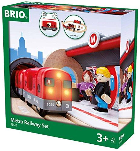 BRIO BRI-33513 Metro Railway Set