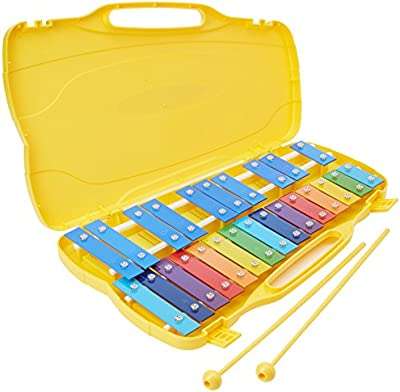 Performance Percussion - Glockenspiel (25 notas, sol 2 - sol 4), multicolor