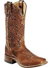Botas de los EE.UU.-Botas, botas de cowboy BO-2106-65-C (pie normal), diseño de mujer, color marrón