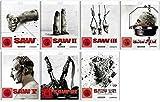 Saw Teil 1-7 Komplett / Blu-ray Set White Editions Teil 1+2+3+4+5+6+7 / Mit neuen Artworks und Bonusmaterial