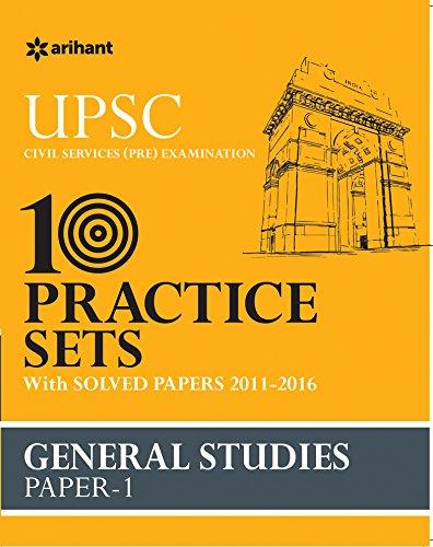 UPSC 10 Practice Sets - General Studies Paper-1