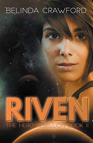 Book cover image for Riven (The Hero Rebellion)