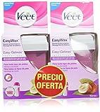 Veet Easy Wax Recambio de Roll-On Eléctrico Cera Caliente - 2 Unidades x 50 ml