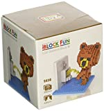 iBlock Fun Blöcke Bau Miniatur Loz–Brown Bear Toilet