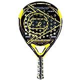 Dunlop Pulsar Sport Max Padel Racquet, Black/Yellow, One Size