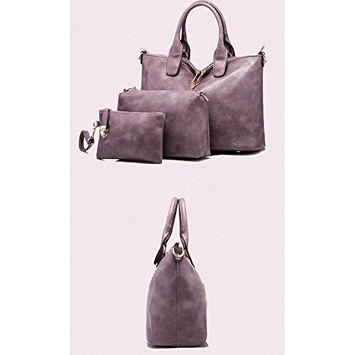 Anne, Borsa a spalla donna nero Rose Red Red Wine