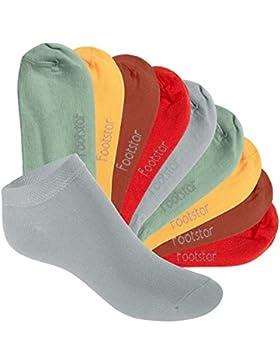 Footstar SNEAK IT! KIDS - 10 pares de calcetines tobilleros para niños - Calidad de celodoro - Disponibles en...