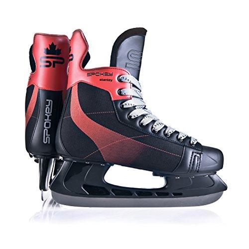 Spokey Unisex Stanley Eishockey Schlittschuhe 44, Mehrfarbig, One Size
