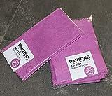 Set Paar 2Stück 1+ 1Gästehandtuch 30x 50+ Handtuch 50x 100Bassetti Pantone 18–3224RADIANT ORCHID violett Handtücher 100% Frottee aus reiner Baumwolle