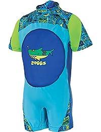 Zoggs niños 'profundo mar Swimfree Floatsuit azul 1–2yrs, Niños, Deep Sea Swimfree Floatsuit, blue, multi, 2-3 años