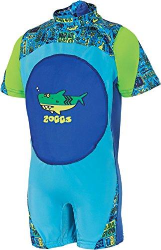 Zoggs Schwimmanzug, Schwimmlernhilfe, für Jungen 2-3 Jahre Blue/Multi-Colour