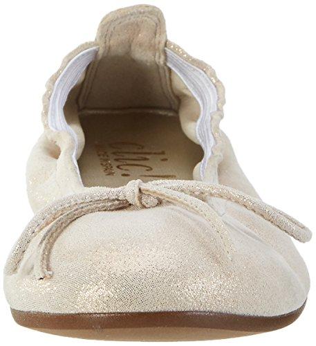 Clic! Mädchen 7290 Geschlossene Ballerinas Beige (Shen)