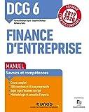 DCG 6 Finance d'entreprise - Manuel - Réforme 2019-2020: Réforme Expertise comptable 2019-2020...