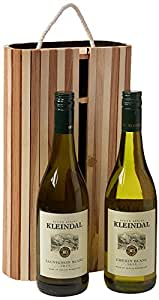 Kleindal Sauvignon Blanc-Chenin Blanc 2014/2015 with Wooden Box, 75 cl (Case of 2)