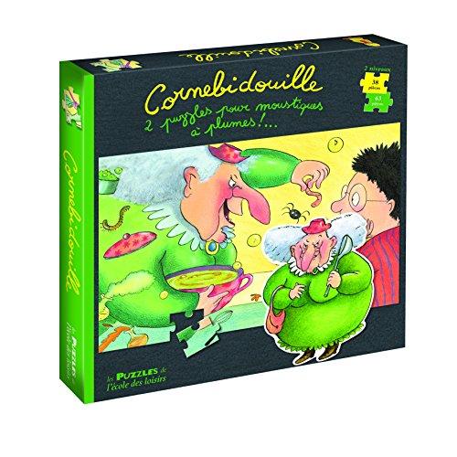 Cornebidouille 2 puzzles pour moustiques à plumes