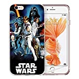 blitz-versand-germany Blitz® JEDI STAR WARS Schutz Hülle Transparent TPU Cartoon Comic M7 Sony Xperia XA1 PLUS