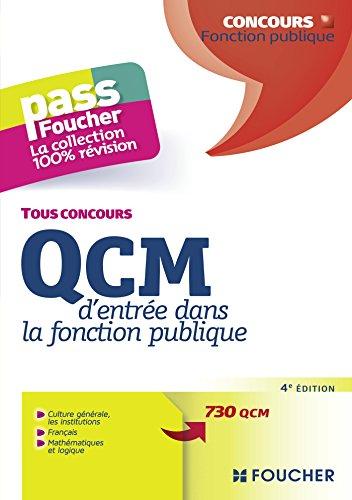 Pass'Foucher - QCM d'entrée dan...