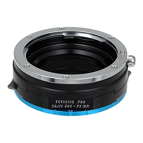 Fotodiox Pro Lens Mount Shift Adapter, Canon EOS (EF, EF-S) Mount Lenses to Fujifilm X-Series Mirrorless Camera Adapter - fits X-Mount Camera Bodies such as X-Pro1, X-E1, X-M1, X-A1, X-E2, X-T1 (Ef Body)