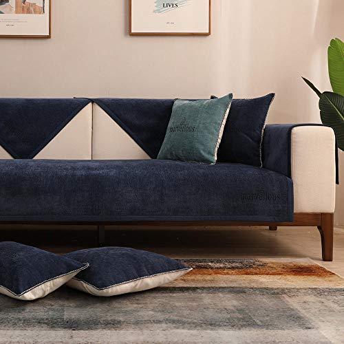 RenshenX 1 2 3 4 Funda para sofá de Dos plazas Funda...