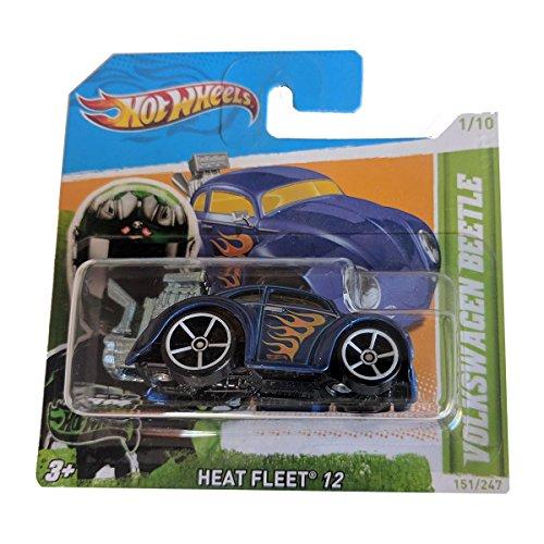 Hot Wheels Volkswagen Beetle - Heat Fleet 12 151/247 - (short card)
