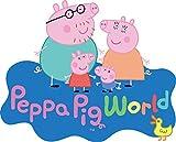 CIALDA in ostia PEPPA PIG PERSONAGGI per DECORAZIONE TORTA