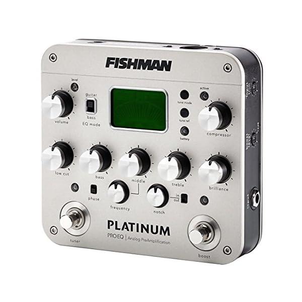 Fishman PRO-PLT-201 - Preamplificatore equalizzatore