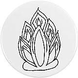 Azeeda 77mm 'Feuer' Pin Knopf-Abzeichen (BB00051466)