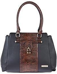 [Sponsored]Fur Jaden Women's Handbag(Black,H300_Black)