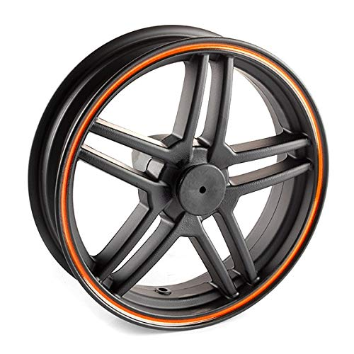 Front Wheel 13x3.50 Orange Rim (SFW181) -