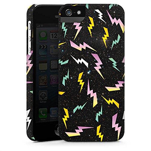 Apple iPhone X Silikon Hülle Case Schutzhülle Bolt Pattern Muster Blitz Premium Case StandUp